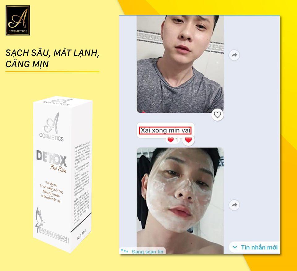 detox a cosmetics nam hay nữ đều sử dụng được