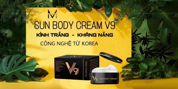 mua Kem Body V9 chính hãng tại NARI COSMETICS