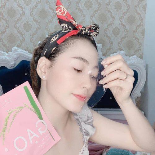 Chị Hoàng Thị Kim Oanh review Mặt Nạ Gạo M.O.I