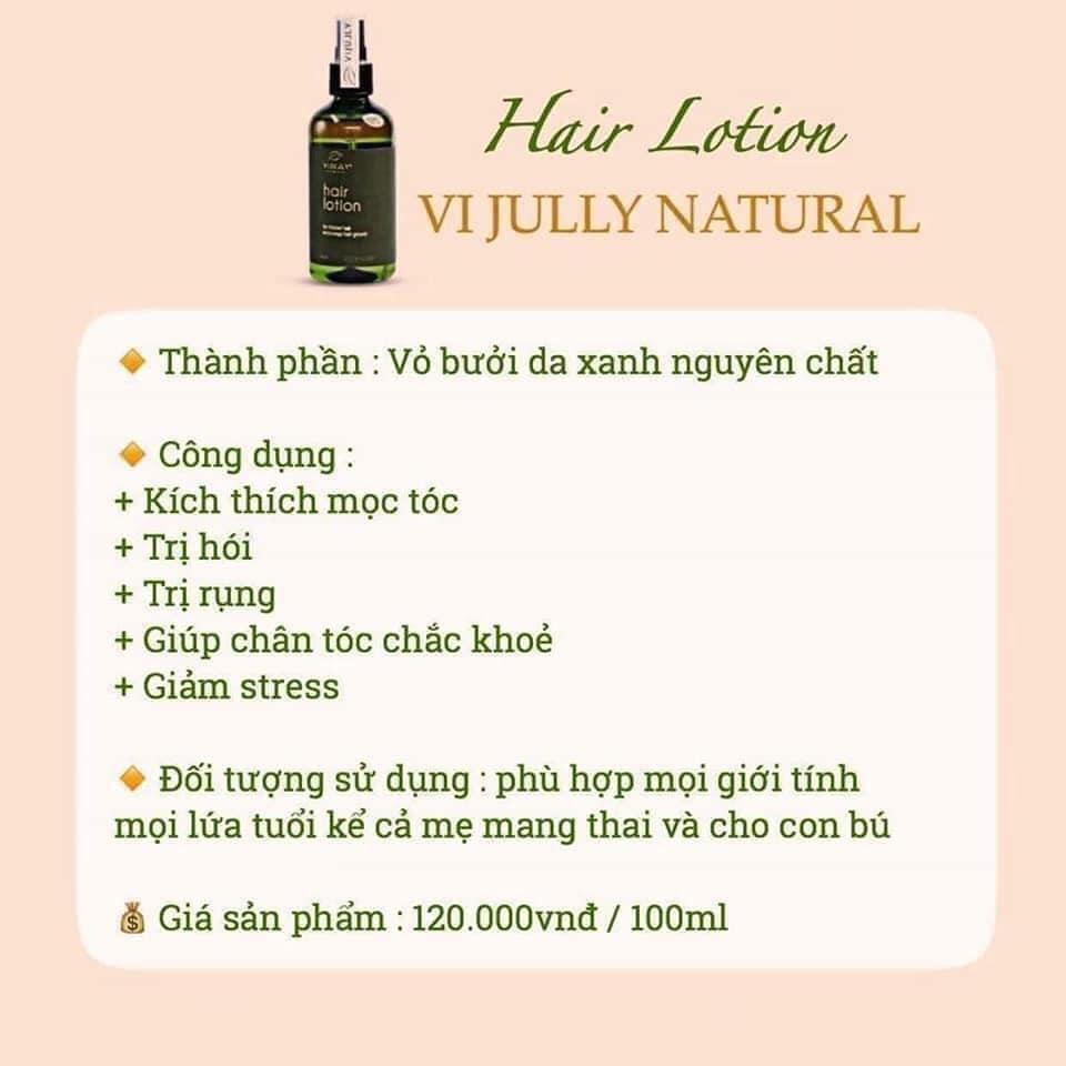 tinh dầu bưởi Vi Jully