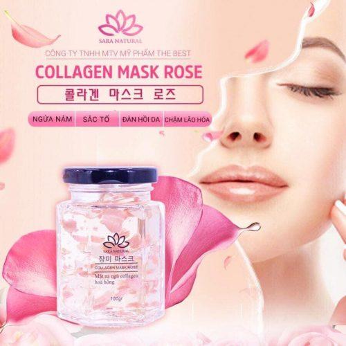 có rất nhiều công dụng trong sản phẩm mặt nạ yến tươi collagen