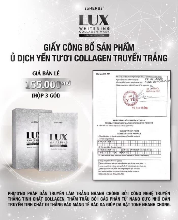 Ủ Dịch Yến Tươi Collagen