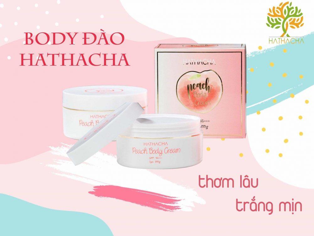 Sản phẩm Kem Body Đào HATHACHA