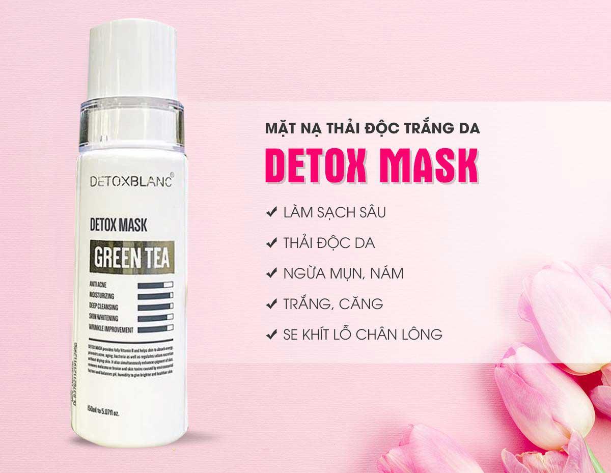 sản phẩm mặt nạ thải độc da tốt nhất 2020