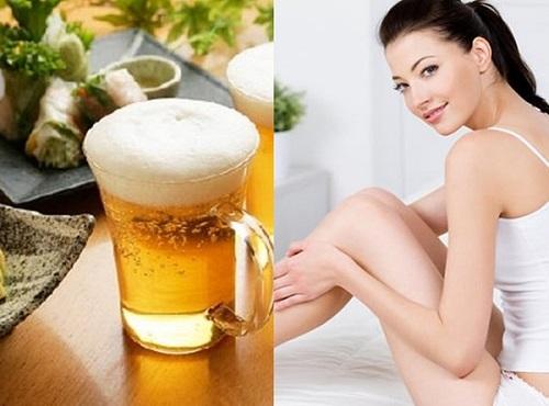 Cách dùng Ủ Trắng Cafe với bia