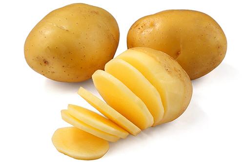 Cách trị mụn bằng khoai tây