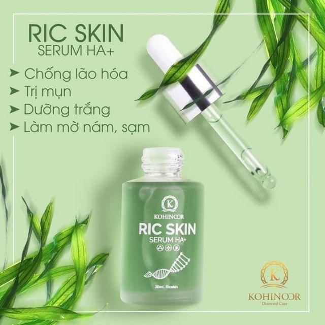 Bước chăm sóc da không thể thiếuSerum Ric Skin HA+