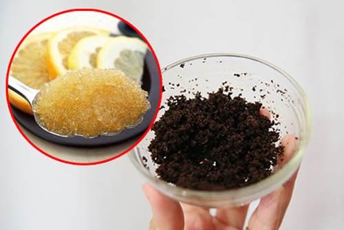 Cách trị mụn lưng hiệu quả bằng cà phê và đường vàng