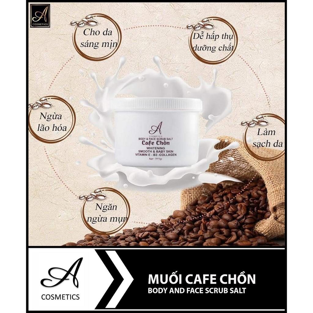 Tẩy Tế Bào Chết Cafe Chồn A Cosmetics