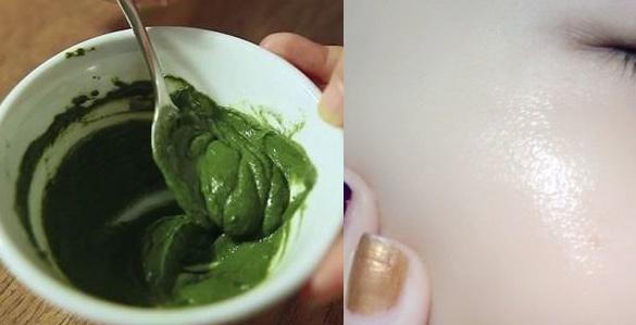 Sử dụng bột trà xanh nước vo gạo mang lại hiệu quả
