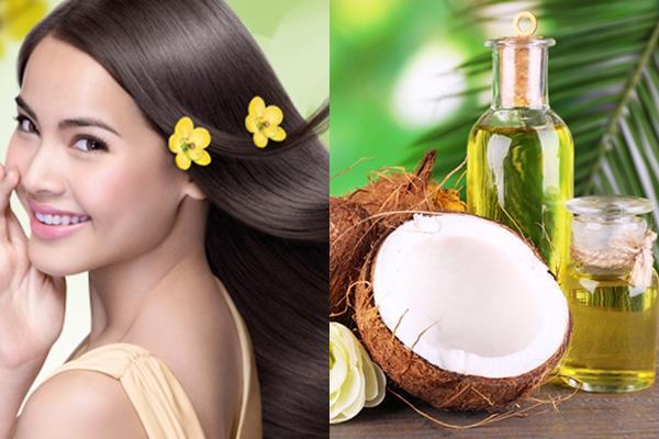 Cách làm tóc dài và mềm mượt từ dầu dừa