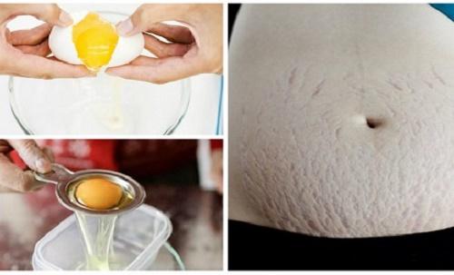Sử dụng lòng trắng trứng gà