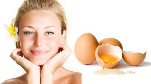 Cách tri thâm bằng trứng gà
