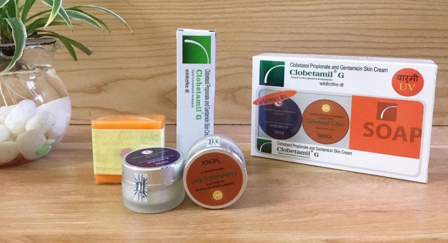 Bộ trị nám Clobetamil G gồm 4 sản phẩm