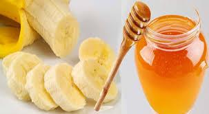 Cách làm trắng da bằng chuối và mật ong