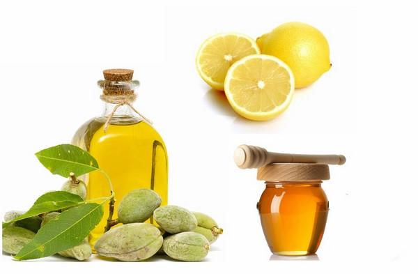 Sử dụng dầu oliu chanh mật ong
