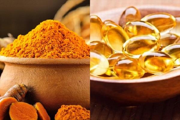 Mặt ạn vitamin E kết hợp với tinh bột nghệ