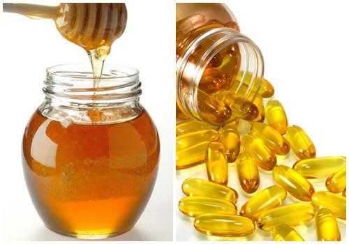 Chăm sóc da bằng mặt nạ vitamin e với mật ong