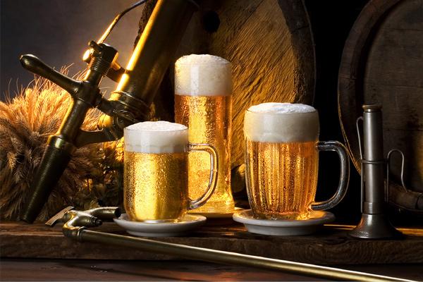 se khít lỗ chân lông bằng bia