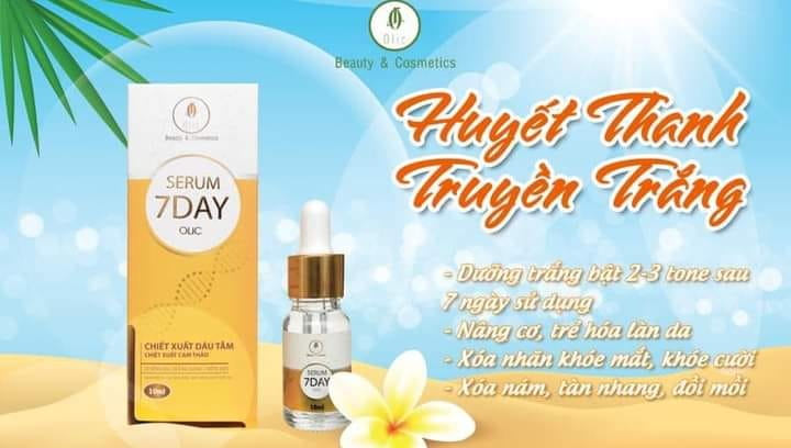 Serum 7 Day Olic đang hot hiện nay