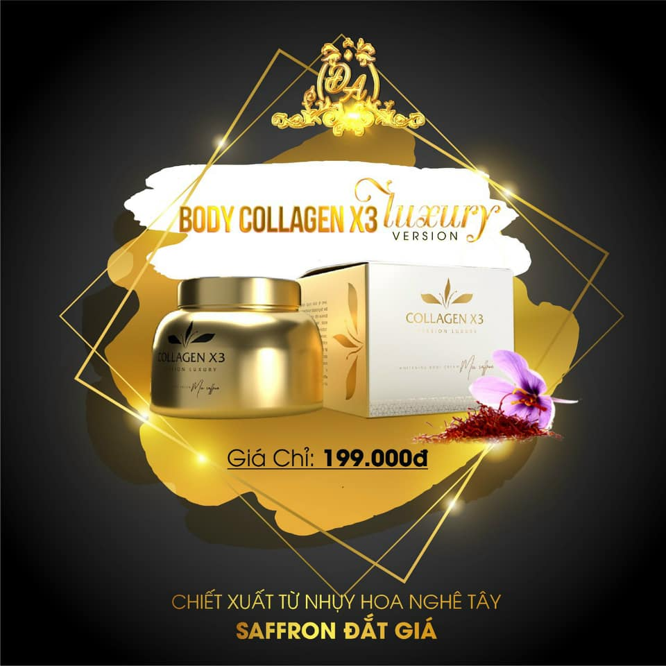 Kem Collagen X3 Luxury