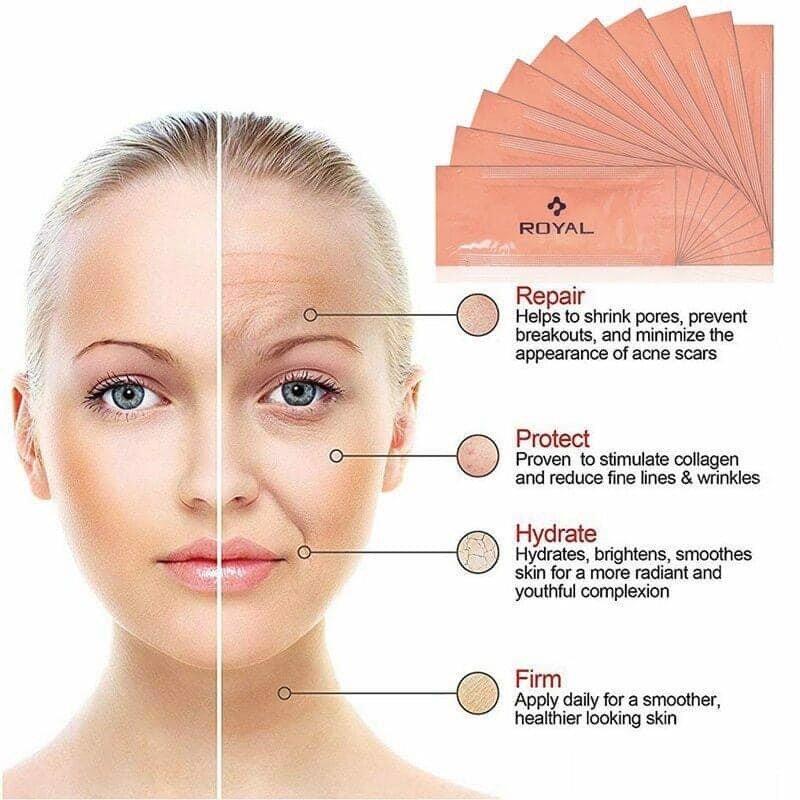 dưỡng da sáng mịn, căng bóng, chống lão hóa và xóa nếp nhăn hiệu quả