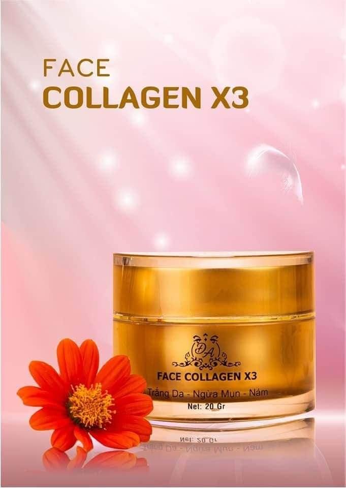 Kem Face Collagen X3 Đông Anh