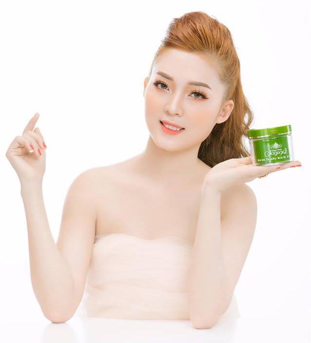 Kem Body Kích Trắng Collagen X3 Xanh được nhiều hot girl người nổi tiếng sử dụng