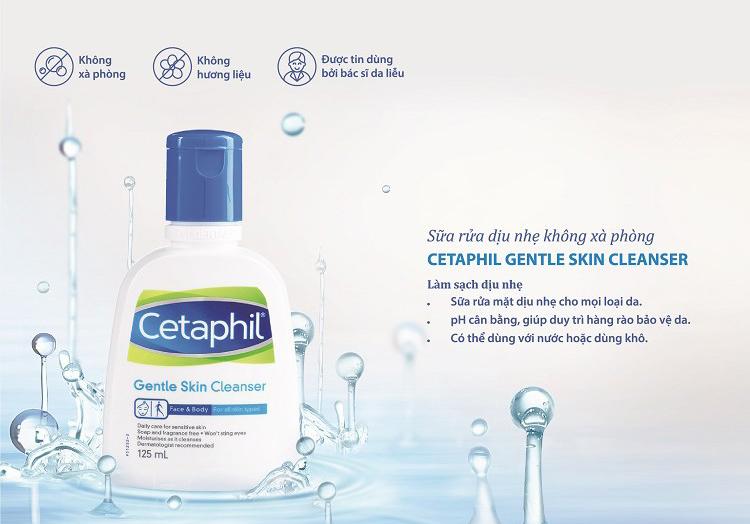 Công dụng vượt trội của Sữa Rửa Mặt Cetaphil