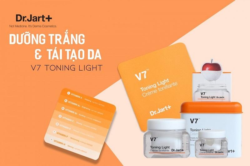 Kem V7 toning light của Thương hiệu Dr. Jart+ Hàn Quốc