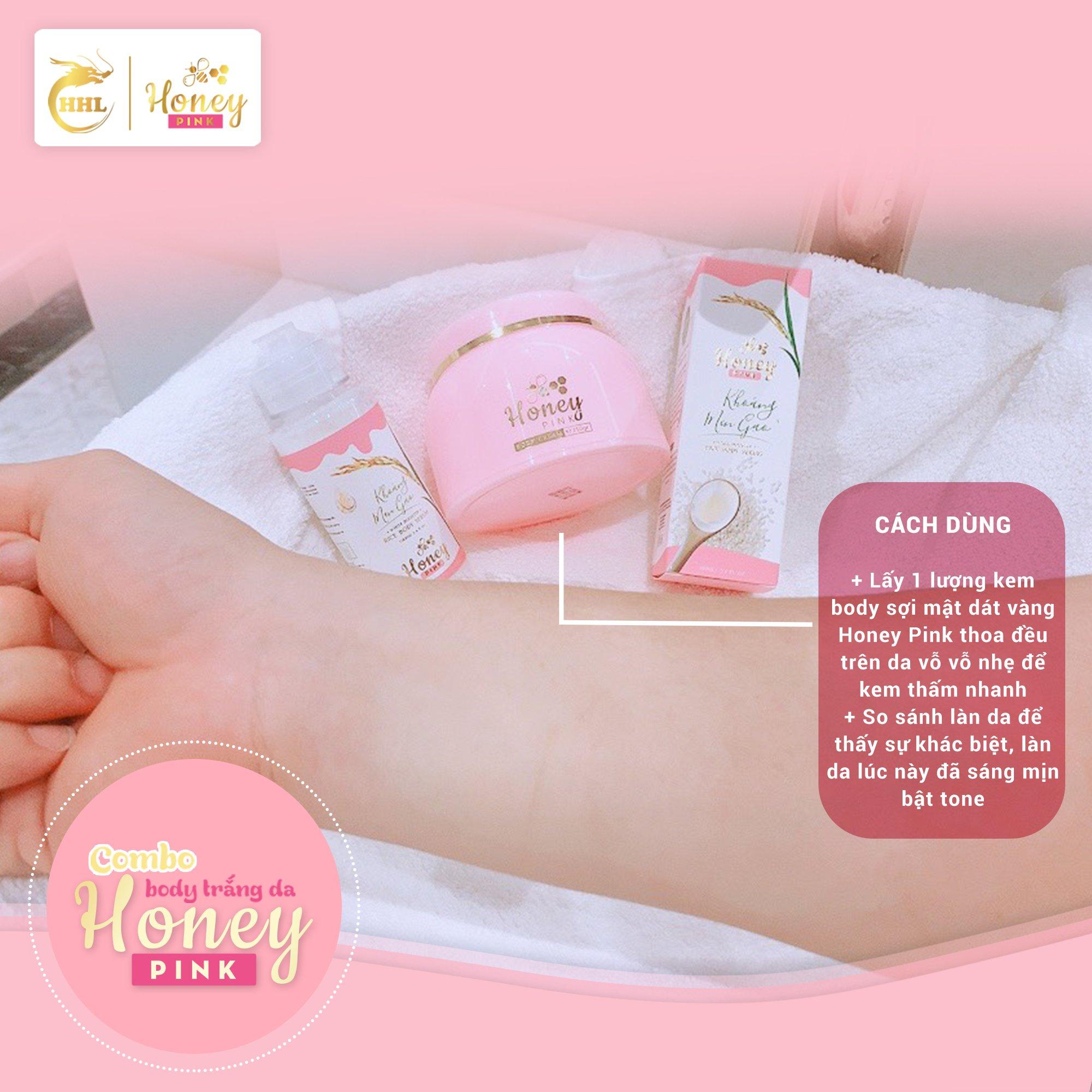 Kem Body Honey Pink