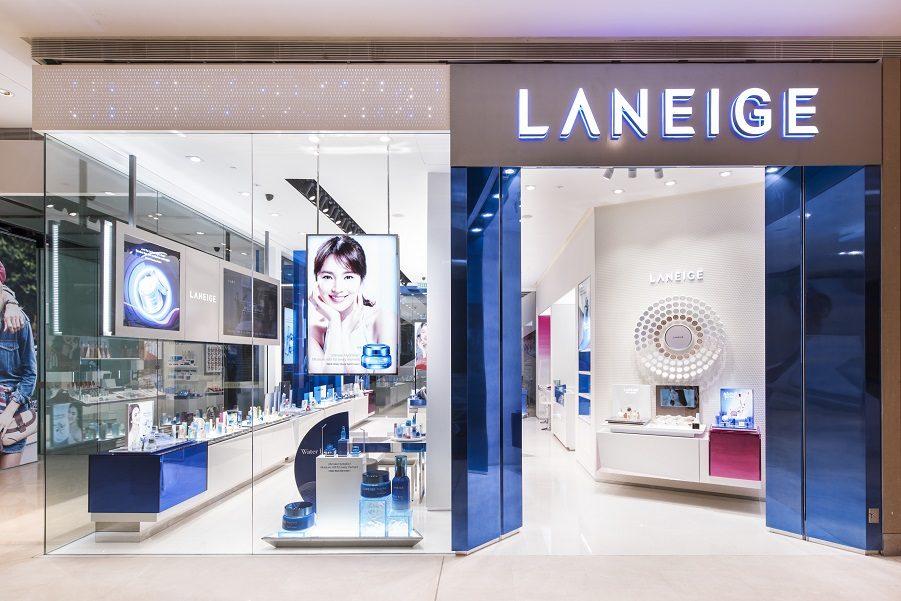 thương hiệu Laneige thuộc tập đoàn Amore Pacific Hàn Quốc