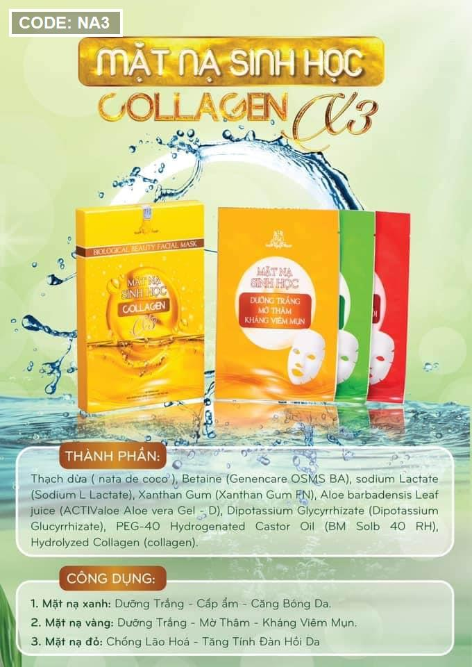 Mặt Nạ Sinh Học Collagen X3