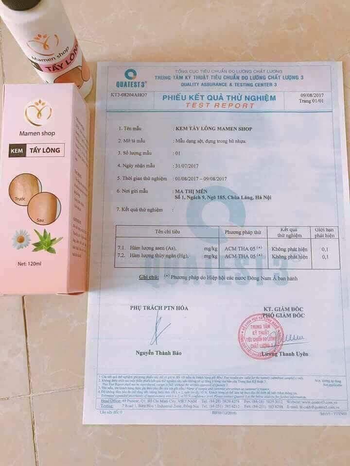 Được cơ quan có thẩm quyền cấp giấy chứng nhận về độ an toàn và chất lượng của sản phẩm